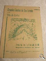 programa de fiestas cartes 1962, fermin - foto