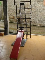 Maquina gimnasio con espaldera - foto