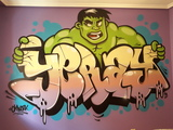 Pintor Graffiti Canarias Tenerife - foto