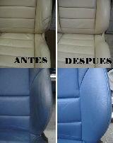 Reparacion volantes y asientos de piel - foto